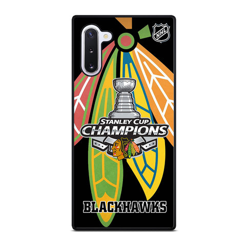 CHICAGO BLACKHAWKS CHAMP Samsung Galaxy Note 10 Case Cover