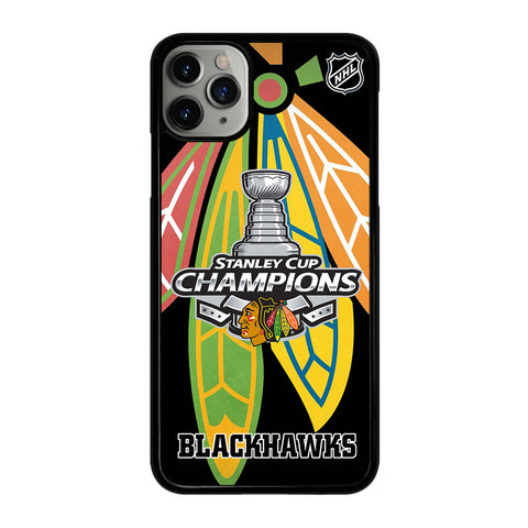 CHICAGO BLACKHAWKS CHAMP iPhone 11 Pro Max Case Cover