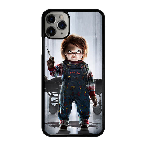 CHUCKY SCARY DOLL 1 iPhone 11 Pro Max Case Cover