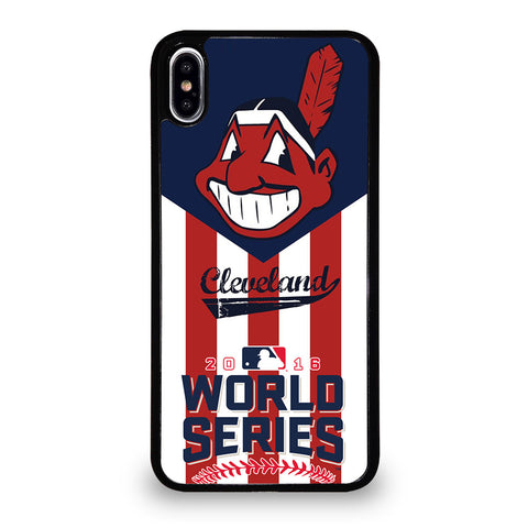 CLEVELAND INDIANS CHAMP iPhone XS Max Case Cover