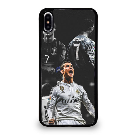 CRISTIANO RONALDO REAL MADRID iPhone XS Max Case Cover