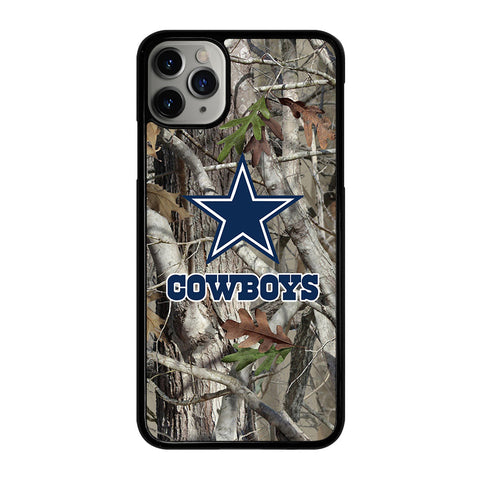 DALLAS COWBOYS TREE CAMO iPhone 11 Pro Max Case Cover
