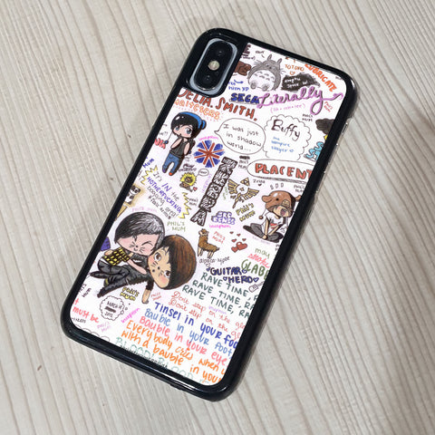 DAN AND PHIL QUOTES iPhone Case