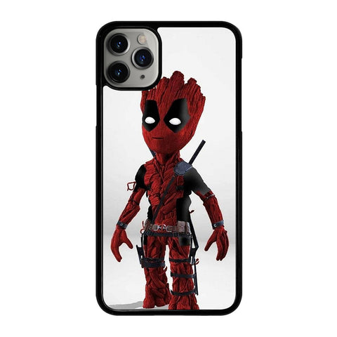 DEADPOOL BABY GROOT iPhone 11 Pro Max Case Cover