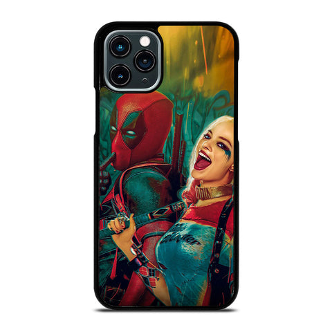 DEADPOOL HARLEY QUINN 1 iPhone 11 Pro Case Cover