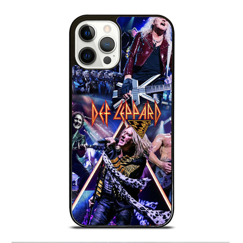 DEF LEPPARD ROCK BAND iPhone 12 Pro Case Cover