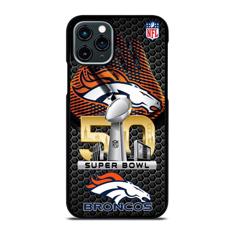 DENVER BRONCOS SUPER BOWL 50 iPhone 11 Pro Case Cover