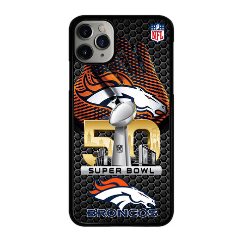 DENVER BRONCOS SUPER BOWL 50 iPhone 11 Pro Max Case Cover