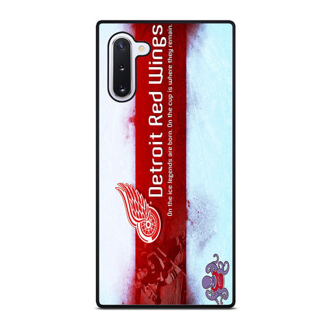 DETROIT RED WINGS Samsung Galaxy Note 10 Case Cover