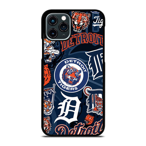DETROIT TIGERS COLLAGE iPhone 11 Pro Case Cover