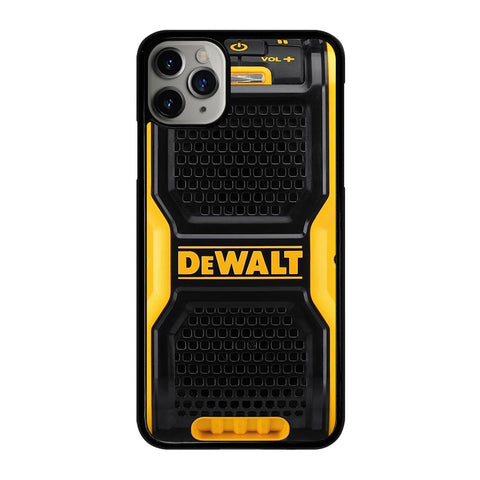 DEWALT SPEAKER 3 iPhone 11 Pro Max Case Cover