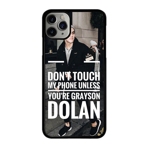 DOLAN TWINS GRAYSON iPhone 11 Pro Max Case Cover