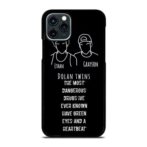 DOLAN TWINS SILHOUETTE iPhone 11 Pro Case Cover