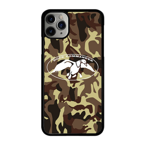 DUCK DYNASTY COMMANDER CAMO iPhone 11 Pro Max Case Cover