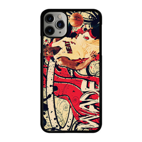 DWYANE WADE 1 iPhone 11 Pro Max Case Cover