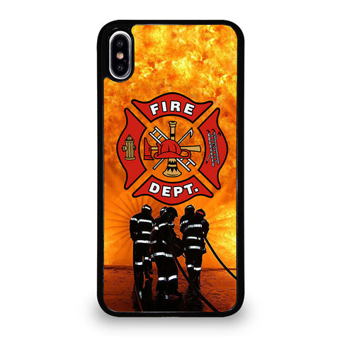 FIREFIGHTER FIREMAN LOGO iPhone XS Max Case Cover