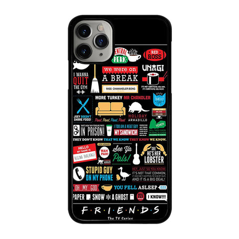 FRIENDS TV SERIES COLLAGE iPhone 11 Pro Max Case Cover