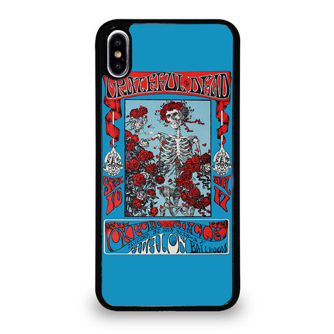 GRATEFUL DEAD SKULL iPhone XS Max Case Cover