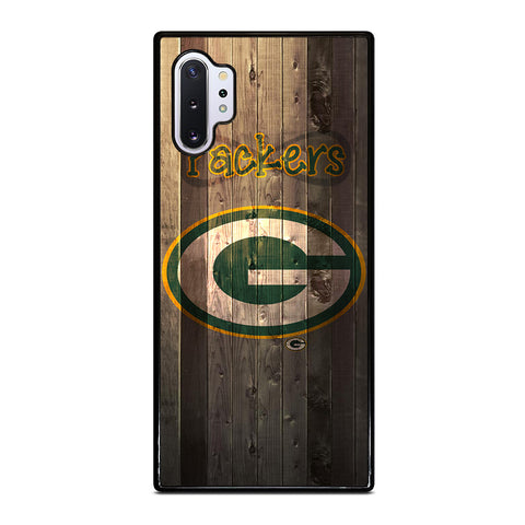 GREEN BAY PACKERS WOODEN Samsung Galaxy Note 10 Plus Case Cover