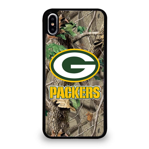 GREEN BAY PACKERS TREE CAMO iPhone XS Max Case Cover