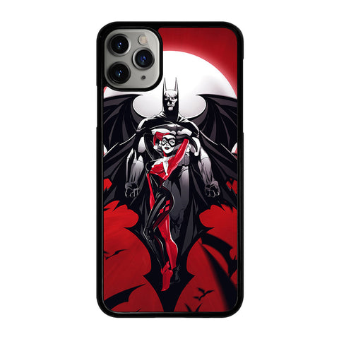 HARLEY QUINN AND BATMAN iPhone 11 Pro Max Case Cover