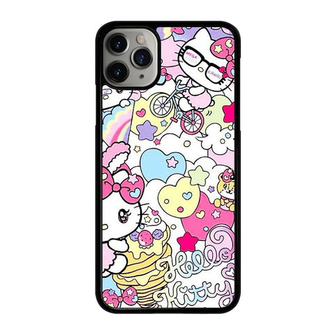 HELLO KITTY 2 iPhone 11 Pro Max Case Cover