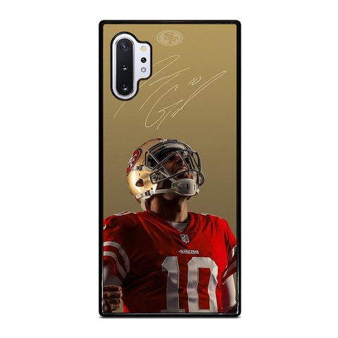 JIMMY GAROPPOLO SAN FRANCISCO 49ERS Samsung Galaxy Note 10 Plus Case Cover