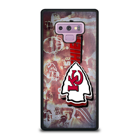 KANSAS CITY CHIEFS 1 Samsung Galaxy Note 9 Case Cover