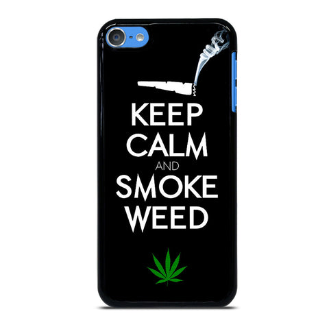 KEEP CALM AND SMOKE WEED 1 iPod Touch 7 Case Cover