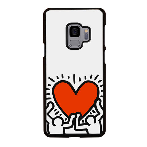 KEITH HARING LOVE 1 Samsung Galaxy S9 Case Cover