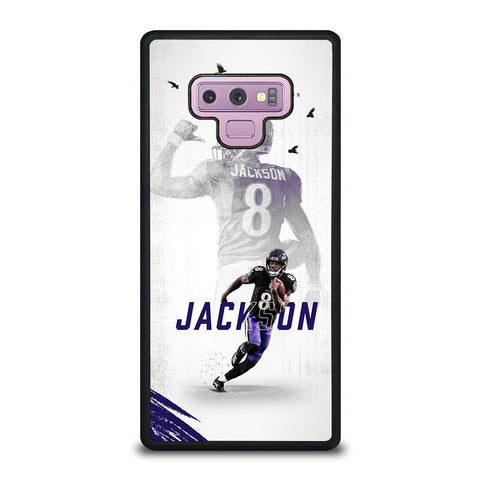 LAMAR JACKSON ACTION Samsung Galaxy Note 9 Case Cover