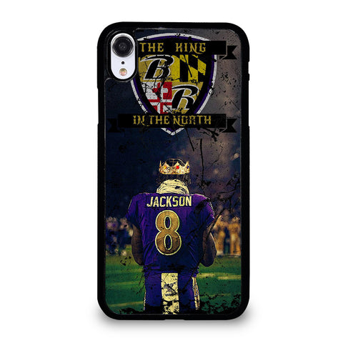 LAMAR JACKSON RAVENS iPhone XR Case Cover