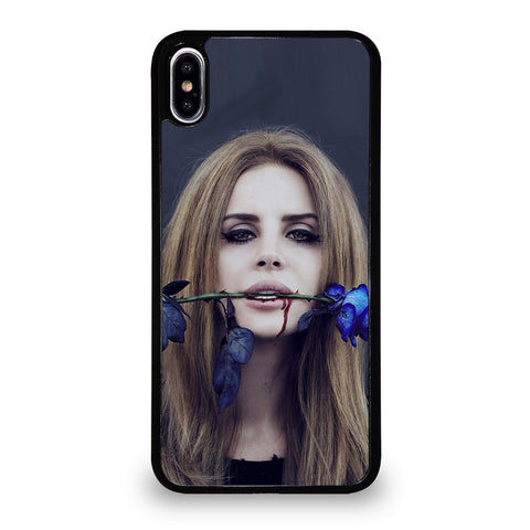 LANA DEL REY BLUE ROSE 1 iPhone XS Max Case Cover