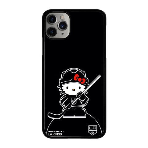 LA KINGS HELLO KITTY 2 iPhone 11 Pro Max Case Cover