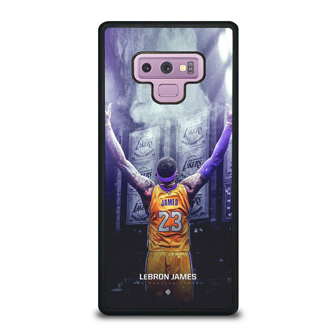 LEBRON JAMES LA LAKERS Samsung Galaxy Note 9 Case Cover