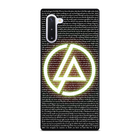 LINKIN PARK 4 Samsung Galaxy Note 10 Case Cover