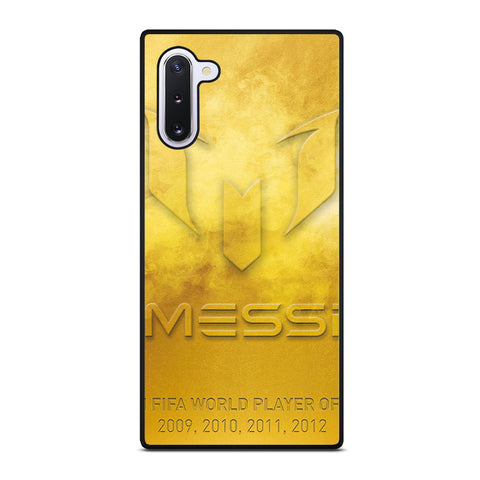 LIONEL MESSI WORLD PLAYER Samsung Galaxy Note 10 Case Cover