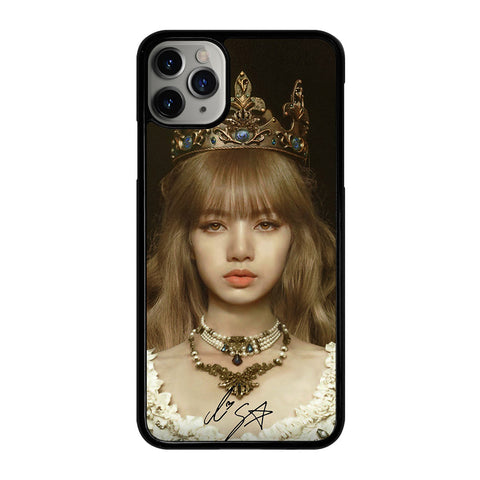 LISA BLACKPINK QUEEN iPhone 11 Pro Max Case Cover