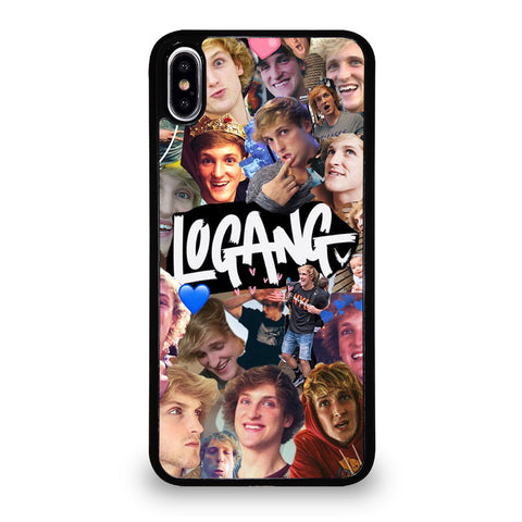 LOGAN PAUL COLLAGE iPhone XS Max Case Cover