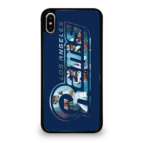 LOS ANGELES RAMS 3 iPhone XS Max Case Cover