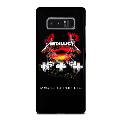 METALLICA MASTER OF PUPPETS 1 Samsung Galaxy Note 8 Case Cover