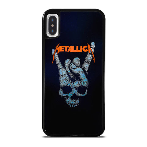 METALLICA SKULL HAND iPhone X / XS Case Cover