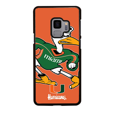 MIAMI HURRICANES UM 2 Samsung Galaxy S9 Case Cover