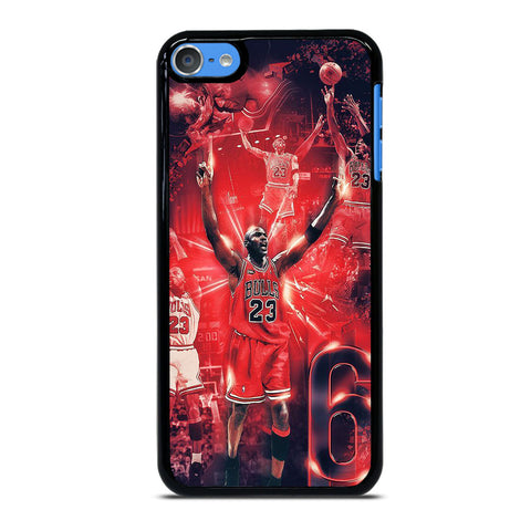 MICHAEL JORDAN COLLAGE iPod Touch 7 Case Cover