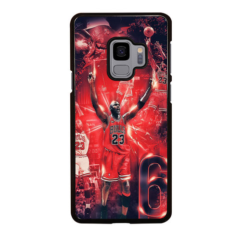 MICHAEL JORDAN COLLAGE Samsung Galaxy S9 Case Cover