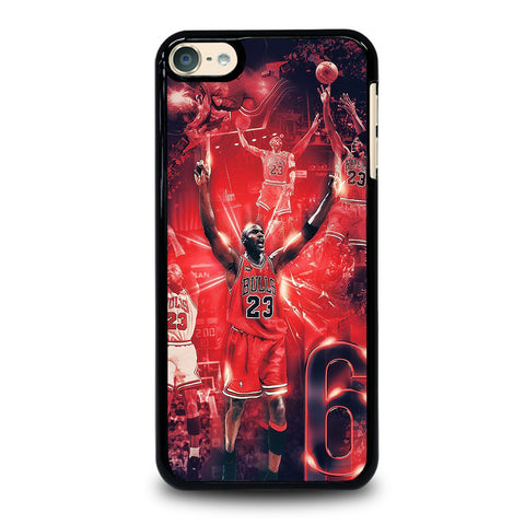 MICHAEL JORDAN COLLAGE iPod Touch 6 Case Cover