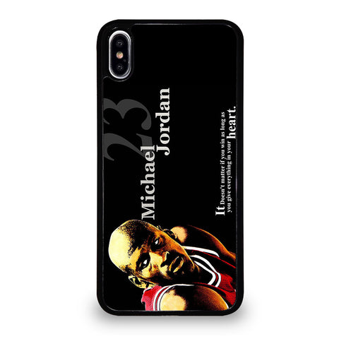 MICHAEL JORDAN 3 iPhone XS Max Case Cover