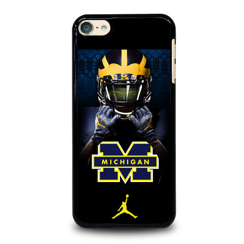 MICHIGAN WOLVERINES 4 iPod Touch 6 Case Cover