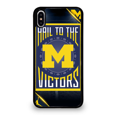 MICHIGAN WOLVERINES 3 iPhone XS Max Case Cover