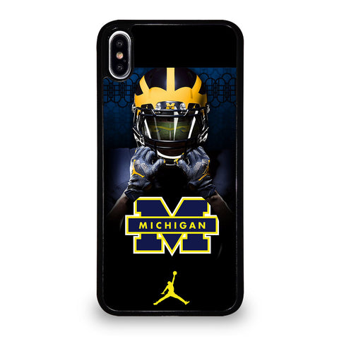 MICHIGAN WOLVERINES 4 iPhone XS Max Case Cover